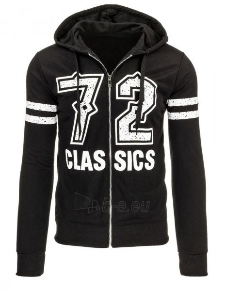 Vyriškas džemperis 72Clas (Juodas) Paveikslėlis 1 iš 1 310820035149
