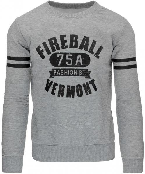 Vyriškas džemperis 75A (Pilkas) Paveikslėlis 1 iš 7 310820032142