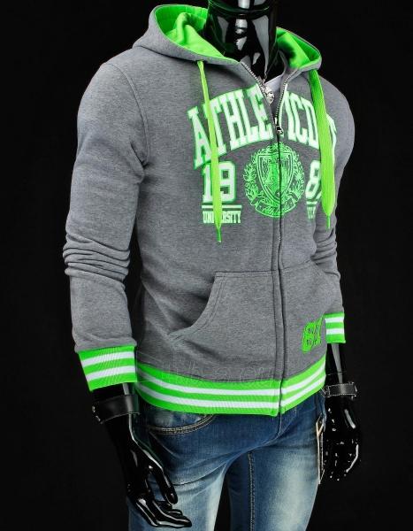 Vyriškas džemperis 90 (Pilkas/Žalias) Paveikslėlis 1 iš 6 310820045871