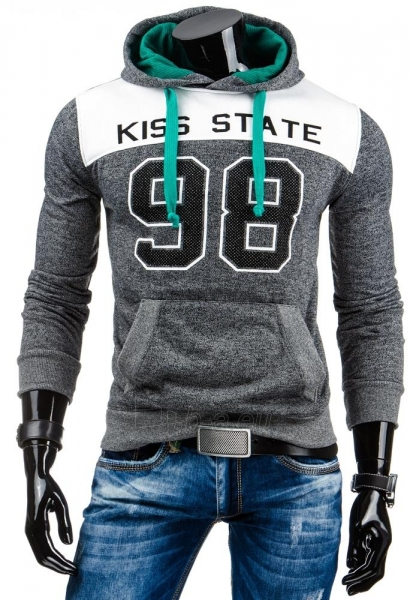 Vyriškas džemperis 98Azle (Antracitas) Paveikslėlis 1 iš 6 310820031671