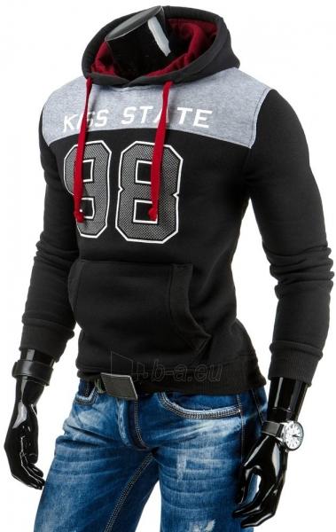 Vyriškas džemperis 98Azle (Juodas) Paveikslėlis 1 iš 5 310820031670
