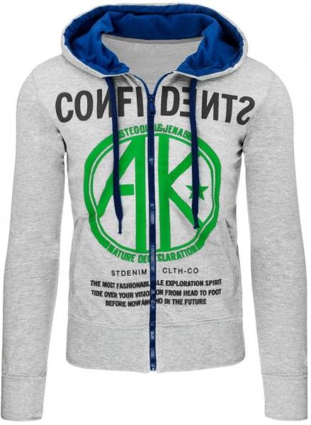 Vyriškas džemperis AKO (Pilkas) Paveikslėlis 1 iš 7 310820030941