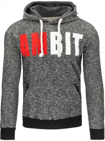 Vyriškas džemperis AmBit (Juodas) Paveikslėlis 1 iš 7 310820030972