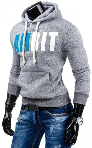 Vyriškas džemperis AmBit (Pilkas) Paveikslėlis 1 iš 6 310820030986