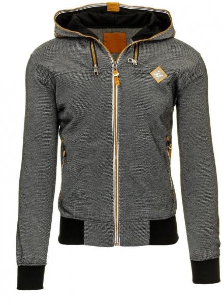 Vyriškas džemperis Ander (Juodas) Paveikslėlis 1 iš 2 310820035158