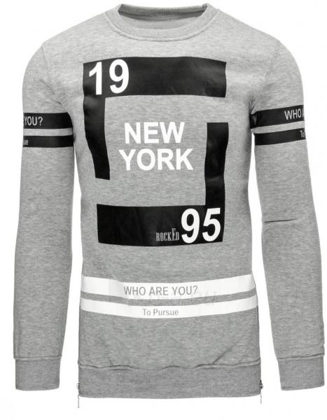 Vyriškas džemperis Anderson (Pilkos spalvos) Paveikslėlis 1 iš 2 310820041721