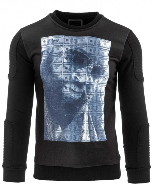 Vyriškas džemperis Baggs (Juodas) Paveikslėlis 1 iš 2 310820035180