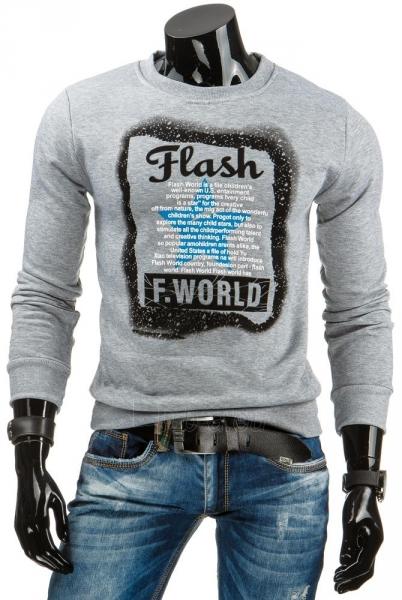 Vyriškas džemperis Barry (Pilkas) Paveikslėlis 1 iš 6 310820031049