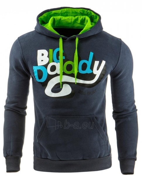 Vyriškas džemperis Big Daddy (Grafitinis) Paveikslėlis 1 iš 1 310820032055