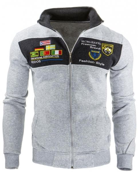 Vyriškas džemperis Boise (Pilkas) Paveikslėlis 1 iš 1 310820032161