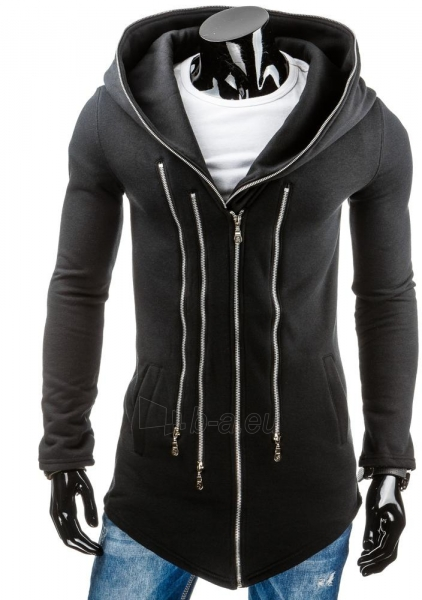 Vyriškas džemperis Boone (Juodas) Paveikslėlis 1 iš 6 310820037022