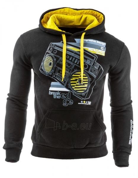Vyriškas džemperis Break (Juodas) Paveikslėlis 1 iš 1 310820031859
