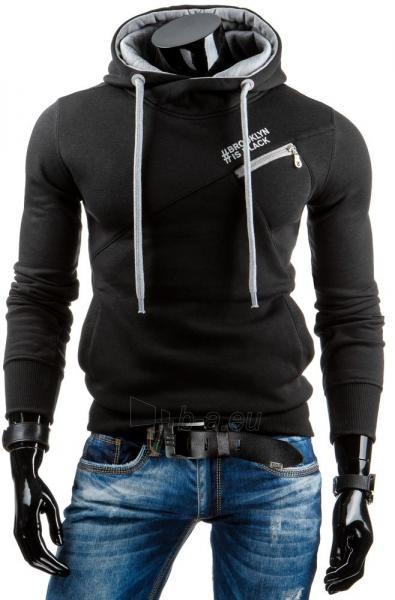 Vyriškas džemperis BROOKLIN IS BLACK (Juodas) Paveikslėlis 1 iš 6 310820031489