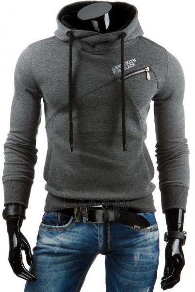 Vyriškas džemperis BROOKLIN IS BLACK (Pilkas) Paveikslėlis 1 iš 6 310820036949