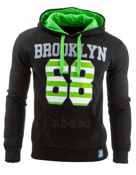 Vyriškas džemperis Brooklyn (Juodi) Paveikslėlis 1 iš 1 310820031599