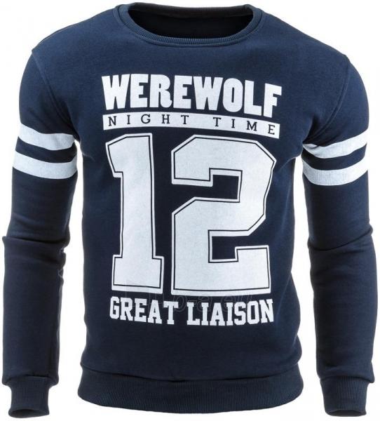 Vyriškas džemperis Brooklyn 12 (Tamsiai mėlynas) Paveikslėlis 1 iš 1 310820031577