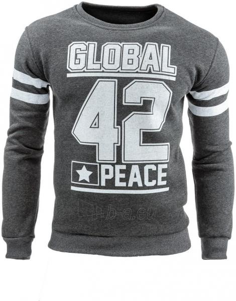 Vyriškas džemperis Brooklyn 42 (Antracitas) Paveikslėlis 1 iš 1 310820031583