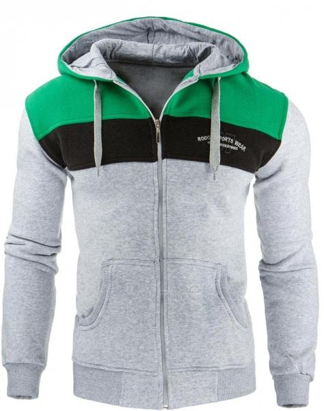 Vyriškas džemperis Brush (Pilkas) Paveikslėlis 1 iš 1 310820032057