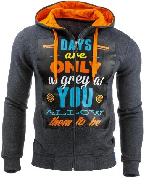 Vyriškas džemperis Days are only (Antracitas) Paveikslėlis 1 iš 1 310820031627