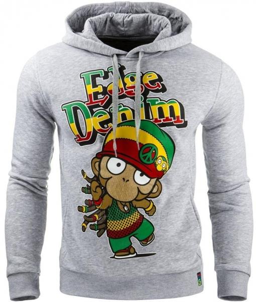 Vyriškas džemperis Denim (Pilka) Paveikslėlis 1 iš 1 310820031705