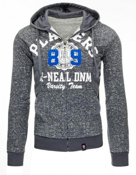 Vyriškas džemperis DNM (Grafitas) Paveikslėlis 1 iš 7 310820030956
