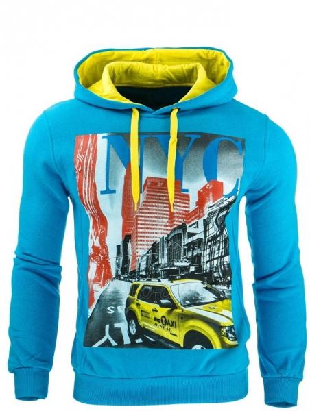Vyriškas džemperis Ellis (Turkio spalvos) Paveikslėlis 1 iš 1 310820041717