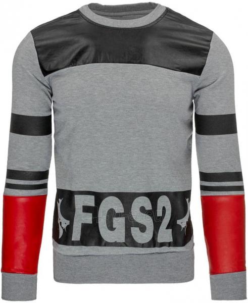 Vyriškas džemperis FGS2 (Pilkas) Paveikslėlis 1 iš 7 310820031005