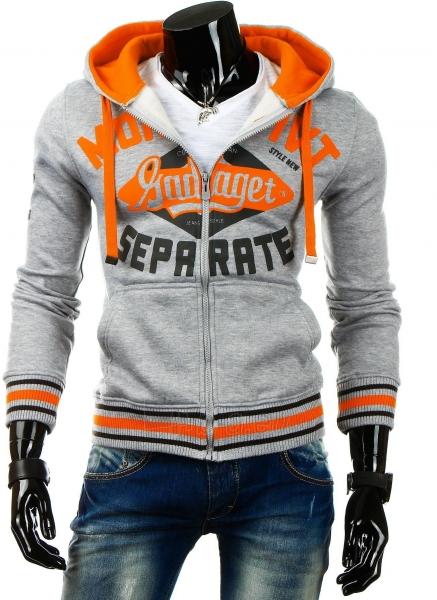 Vyriškas džemperis Gadaget (Pilkas) Paveikslėlis 1 iš 6 310820030737