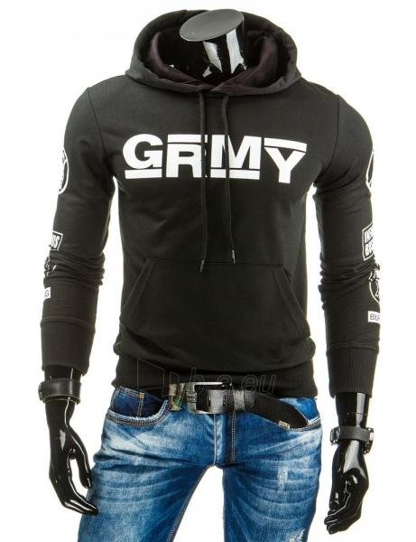 Vyriškas džemperis Grmy (Juodas) Paveikslėlis 1 iš 6 310820037037