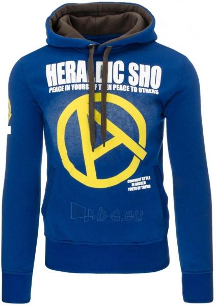 Vyriškas džemperis Heraldic (Mėlynas) Paveikslėlis 1 iš 7 310820030900