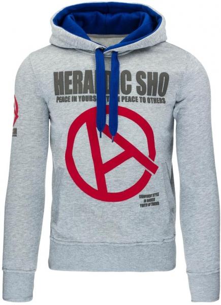 Vyriškas džemperis Heraldic (Pilkas) Paveikslėlis 1 iš 7 310820030899