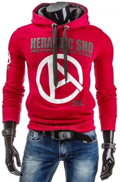 Vyriškas džemperis Heraldic (Raudonas) Paveikslėlis 1 iš 6 310820030897