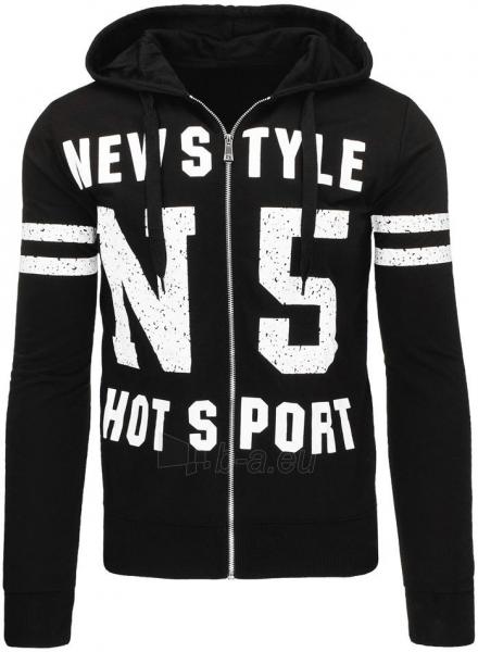 Vyriškas džemperis HotN5 (Juodas) Paveikslėlis 1 iš 7 310820031940