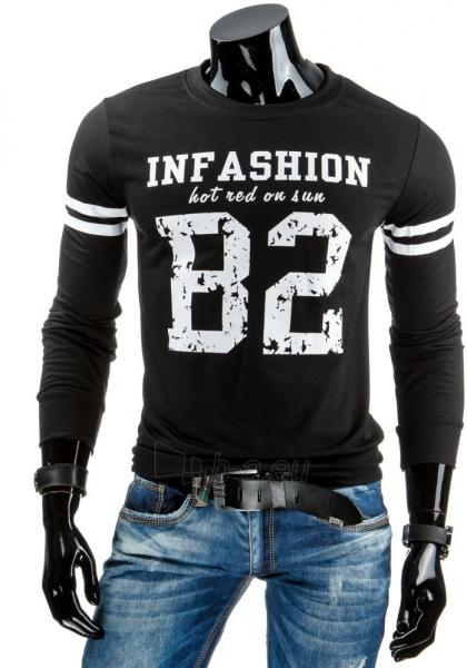 Vyriškas džemperis In Fashion (Juodas) Paveikslėlis 1 iš 6 310820031451