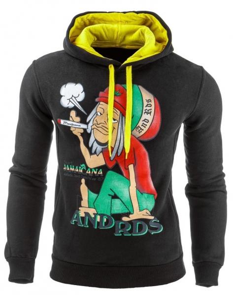 Vyriškas džemperis Jamaicana (Juodas) Paveikslėlis 1 iš 1 310820031878