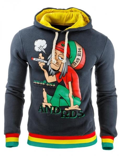 Vyriškas džemperis Jamaicana2 (Grafitinis) Paveikslėlis 1 iš 1 310820031885