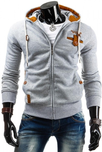 Vyriškas džemperis Jarod (Pilkas) Paveikslėlis 1 iš 6 310820045265