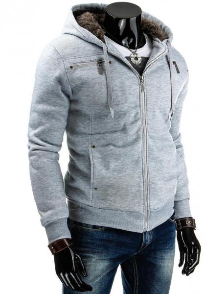 Vyriškas džemperis Jed (Pilkas) Paveikslėlis 1 iš 6 310820030776
