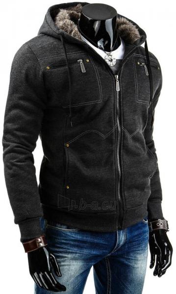 Vyriškas džemperis Jed (Tamsiai Pilkas) Paveikslėlis 1 iš 6 310820030777