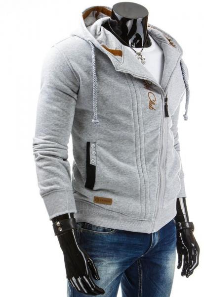 Vyriškas džemperis Jeffery (Pilkas) Paveikslėlis 1 iš 6 310820043562