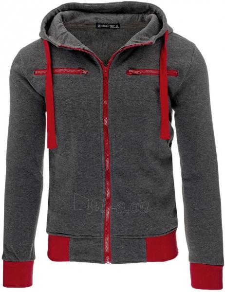 Vyriškas džemperis Jeremiah (Antracitas/Raudonas) Paveikslėlis 1 iš 7 310820030790