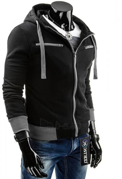 Vyriškas džemperis Jeremiah (Juodas/Pilkas) Paveikslėlis 1 iš 6 310820031900