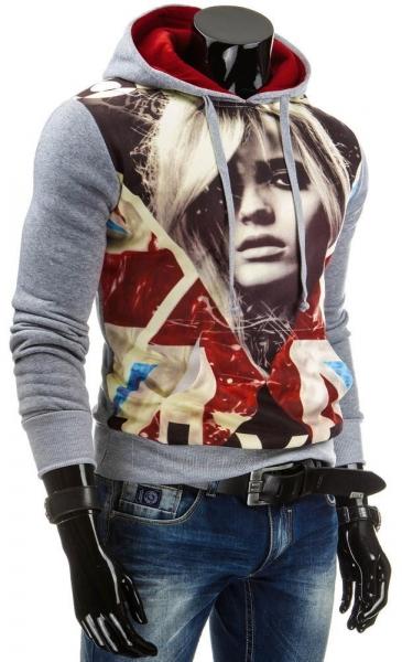 Vyriškas džemperis Jimmy (Pilkas) Paveikslėlis 1 iš 6 310820043582