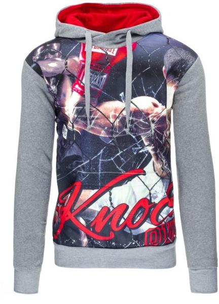 Vyriškas džemperis Joey (Pilkas) Paveikslėlis 1 iš 7 310820030807