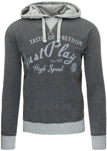 Vyriškas džemperis Just Play (Antracitas) Paveikslėlis 1 iš 7 310820030903