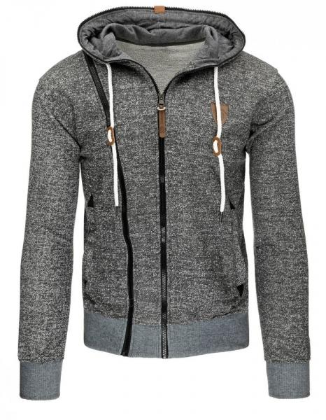 Vyriškas džemperis Justy (Pilkas/Juodas) Paveikslėlis 1 iš 7 310820030844
