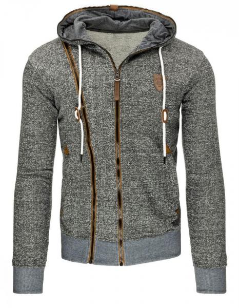 Vyriškas džemperis Justy (Pilkas/Rudas) Paveikslėlis 1 iš 7 310820030842