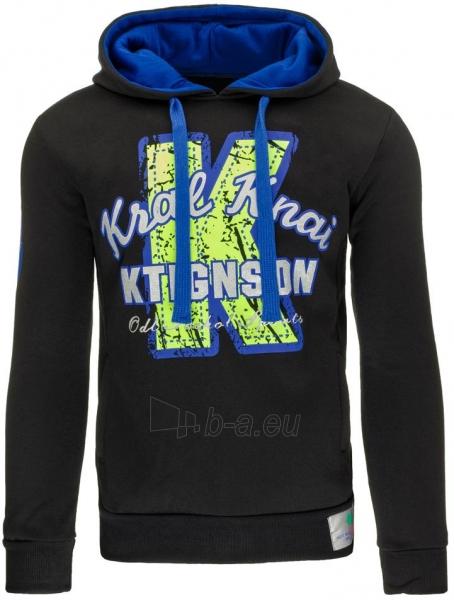 Vyriškas džemperis K (Juodas) Paveikslėlis 1 iš 7 310820032109