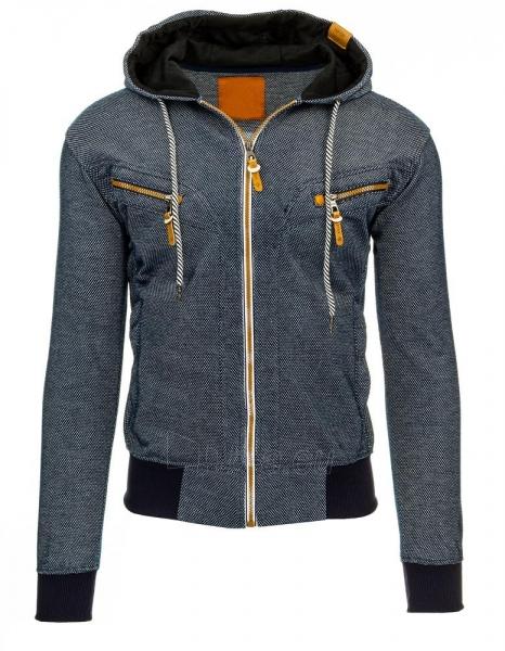 Vyriškas džemperis Kevil (Tamsiai mėlynas) Paveikslėlis 1 iš 2 310820035162