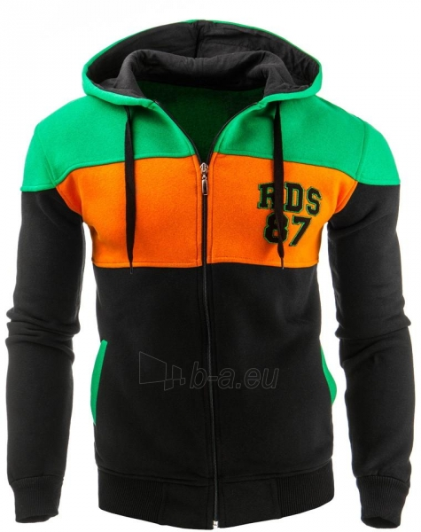 Vyriškas džemperis Kuna (Juodas) Paveikslėlis 1 iš 1 310820032163